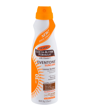 Eventone® Suncare Cocoa Butter Moisturizing Sunscreen Sheer Spray SPF 30