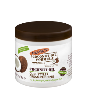 Coconut Oil Curl Styler Cream Pudding